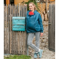 Quilted Babywearing Jacket
